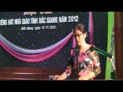 Hội thi tiếng hát nhà giáo tỉnh Bắc Giang năm 2012 (P3-End)