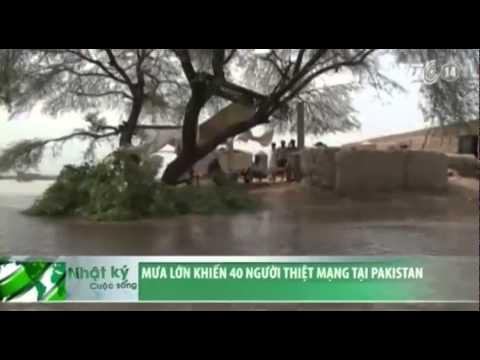 VTC14_Mưa lớn khiến 40 người thiệt mạng tại Pakistan