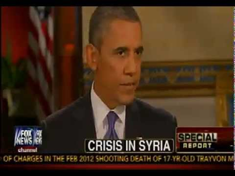 Barack Obama Addresses Syria Concerns In Interview w/ Chris Wallace - Fox News - September 9, 2013