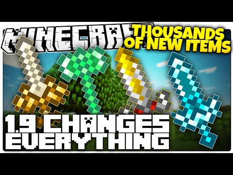 Here's Why Minecraft 1.9 Changes EVERYTHING | THOUSANDS Of New Items (Minecraft 1.9 Facts)