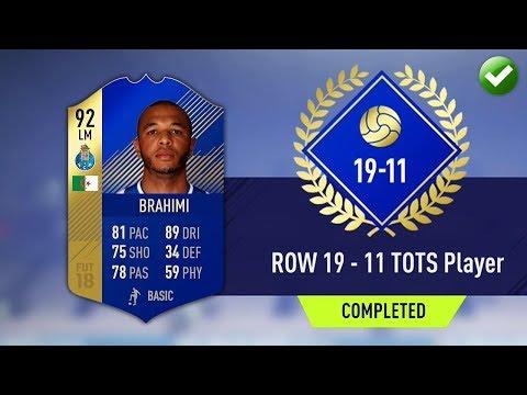 ROW 19-11 TOTS SBC! (CHEAPEST METHOD) *GUARANTEED PROFIT* (FIFA 18 Ultimate Team)