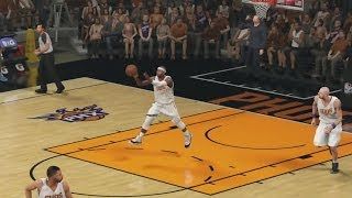 NBA 2K14 PS4 My Career Playoffs SFG2 Full Court Splash