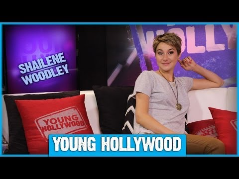 Shailene Woodley on Chemistry with THE FAULT IN OUR STARS Co-Star!