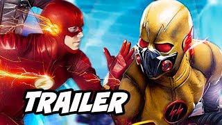 The Flash Season 4 Flash vs Reverse Flash Scene and Black Flash Explained