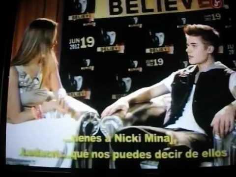 Justin Bieber Habla en español en Mexico 2012♥
