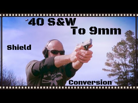 Smith & Wesson M&P Shield 40 S&W to 9mm Conversion Overview (HD)