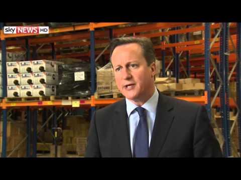 David Cameron - No Pacts With UKIP - 23/05/2014
