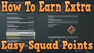 """COD Ghosts"" How To Earn Easy Squad Points In Multiplayer"