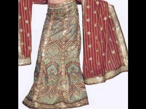 Ramadan Eid Wedding Chaniya Choli Embroidery