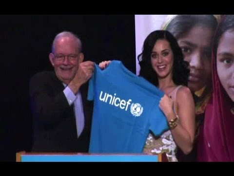 UN - KATY PERRY UNICEF (Pop star becomes newest Goodwill Ambassador)