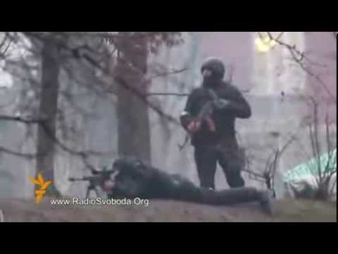 Live Video of Ukraine Soldiers Shooting AK 47 at People over 25 People Dead No Truce!!!
