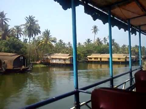 Houseboat Kerala Video - Kerala Tourist Places Video