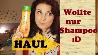 Honigprinzessin – [Haul] dm – ich wollte doch nur Shampoo :D