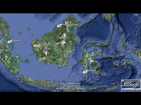 Google Earth Hero: BOS, Borneo rain forest