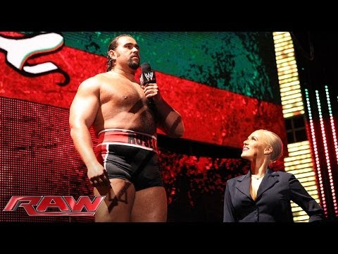 Alexander Rusev calls America weak: Raw, March 10, 2014