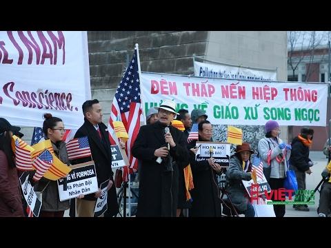 San Jose: LM Nguyễn Đình Thục góp tiếng nói trong