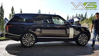 $200k!!! Range Rover Autobiography - How to apply Waxedshine Ceramic Coating