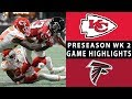 Chiefs vs. Falcons Highlights | NFL 2018 Preseason Week 2