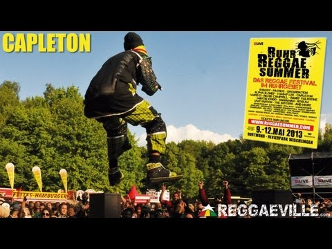 Capleton @ Ruhr Reggae Summer in Dortmund, Germany 5/12/2013