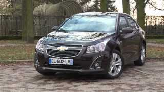 Essai Chevrolet Cruze 4 P 1.7 VCDi 131 LTZ 2012
