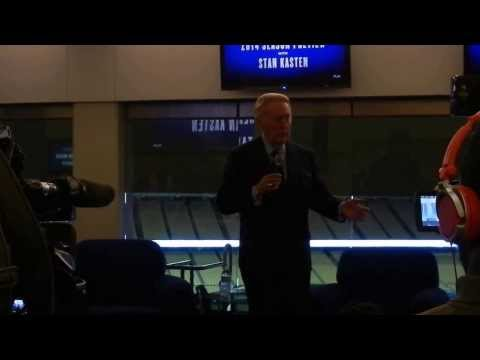 Vin Scully and the 2014 Los Angeles Dodgers Season Preview with Stan Kasten