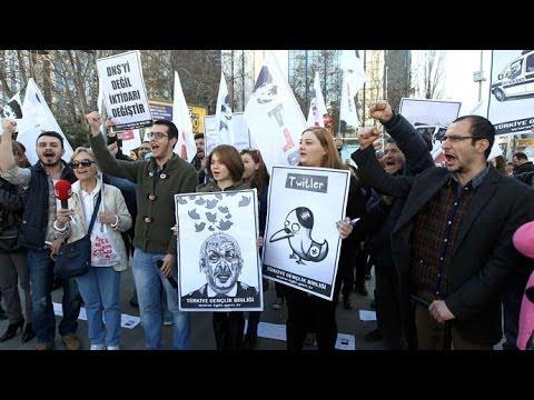 'Twitler': Turkey's Twitter ban sparks outrage, social media mocks