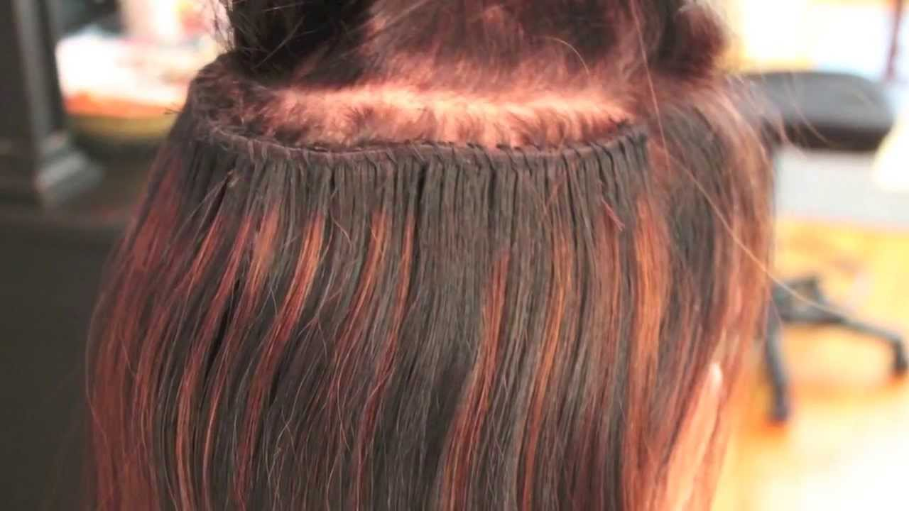 Caucasian Hair Extension Remy Indian Hair