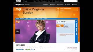 Elaine Paige's Fabulous Laugh