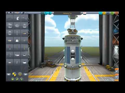 KSP - Building a ship and docking practice!