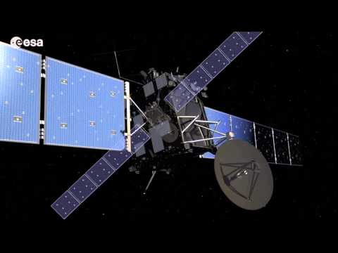 How ESA's ROSETTA Comet Probe Wakes Up in Deep Space | Video