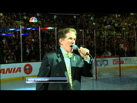 Boston Bruins post-Marathon Anthem and video 4/17/13