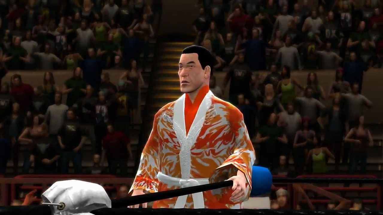 WWE13 CAW Giant Baba YouTube