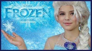 Disney's FROZEN Elsa Makeup Tutorial KITTIESMAMA