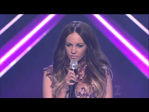 Samantha Jade - Run to you (Whitney Houston) The X Factor Australia 2012 08-10-2012 (HQ)