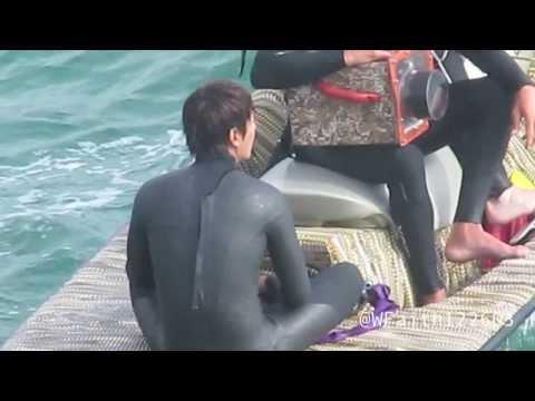 [FANCAM] Lee Minho Surfing Scene for