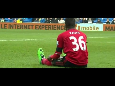 Wilfried Zaha Vs Wigan Athletic Home (15/02/2014)