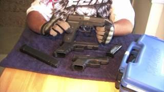 Sig Sauer P229 Comparacion Con La Pistola Glock Version