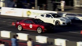 Panamera Turbo S Vs Camaro ZL1 Vs Mustang GT500 Vs