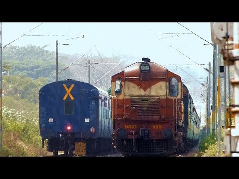 NON AC BRINDAVAN EXPRESS - A TRIBUTE - INDIAN RAILWAYS (12639 MADRAS BANGALORE)