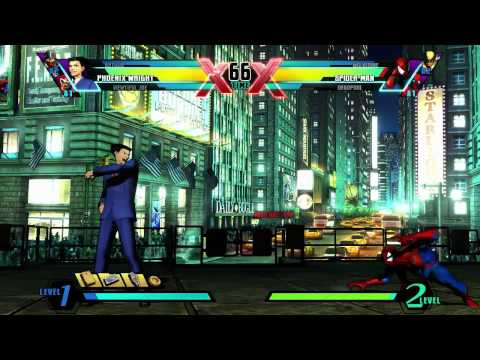 Ultimate Marvel Vs Capcom 3 - Phoenix Wright