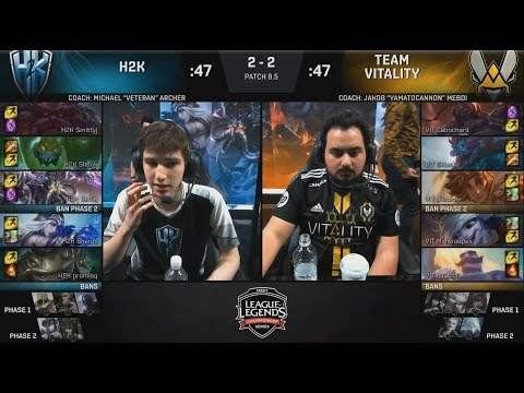 H2K (Sheriff Ashe) VS VIT (Minitroupax Tristana) Game 5 Highlights - 2018 EULCS Spring Quarterfinals