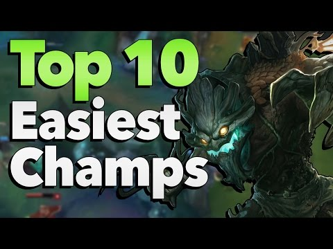 Top 10 Easiest Champions to Play in League of Legends