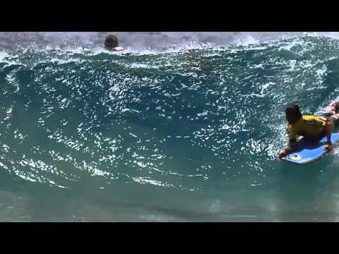 Noronha Ambiental Bodyboard Pro 2012 - Highlights - Finais