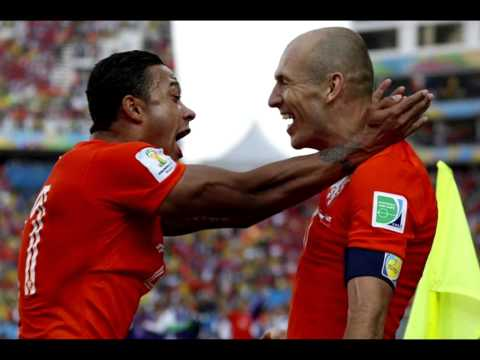 Netherlands Vs Mexico 2-1 All Goals & Highlights World Cup 2014