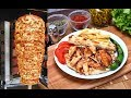 Chicken Doner Kebap Recipe Traditional Turkish Food