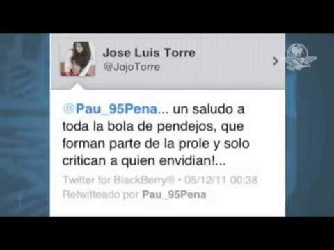 Paulina Peña Pretelini pide disculpas y reactiva su twitter.flv
