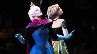 Queen Elsa Coronation with Princess Anna and Hans at Disney on Ice Presents FROZEN