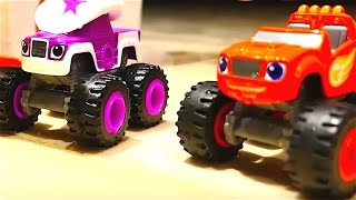Juguetes de Blaze y los Monster Machines - Camiones monstruos - Coches para niños