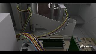 CATIA V6 | Electrical & Wire Harness Design | Flat Ribbon Cable