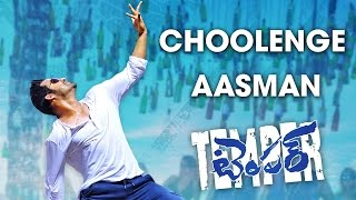 Temper Choolenge Aasma Song Trailer